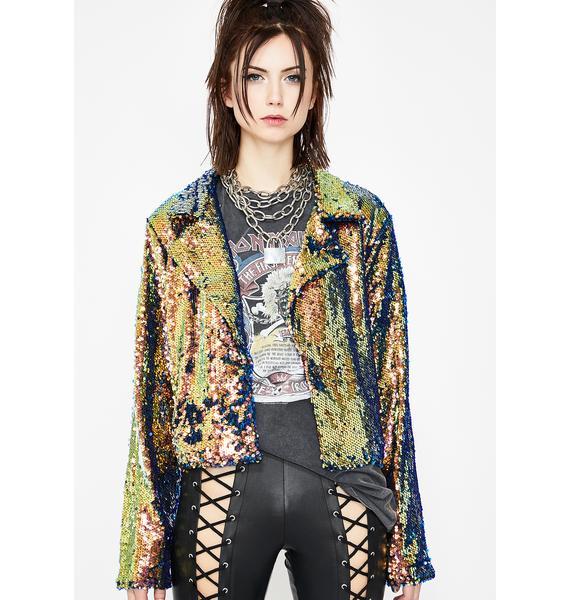 Cosmic Wonder Sequin Jacket