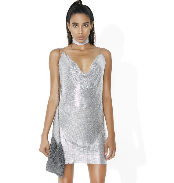 Love 2 Love You Chainmail Mini Dress