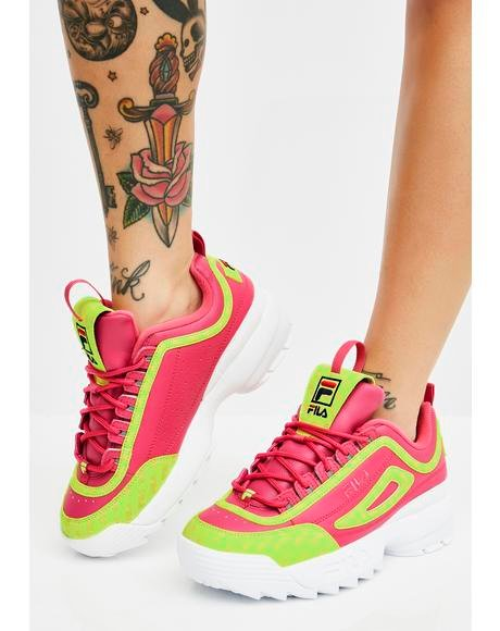 Candy Disruptor II Multiflag Sneakers
