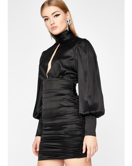 Decadent Life Ruched Dress