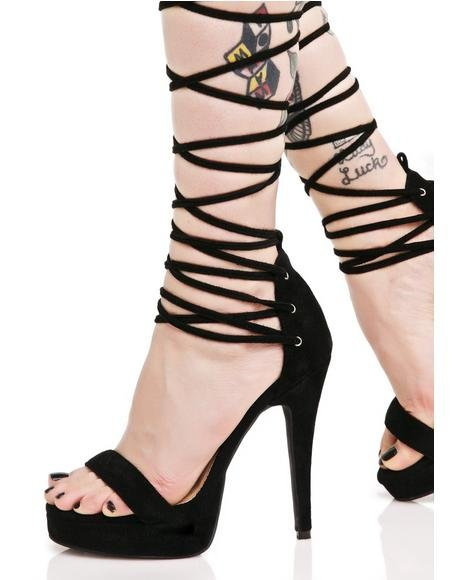 Vixen Lace-Up Heels