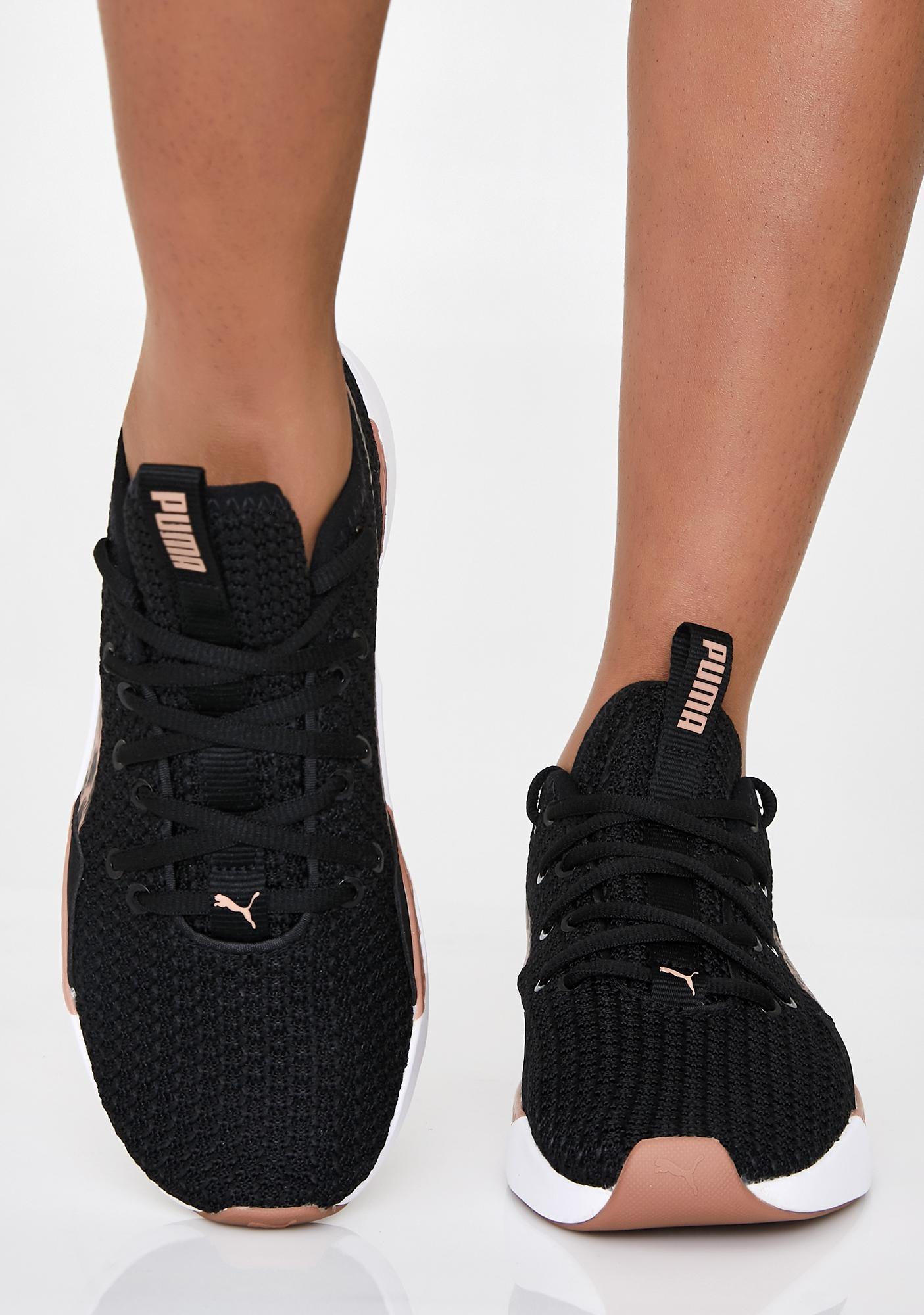 PUMA Incite Leopard Sneakers