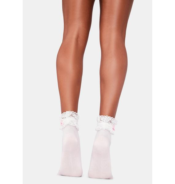Pretty Promiscuous Ruffle Socks