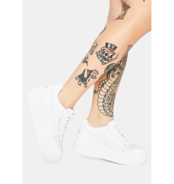 PUMA X Charlotte Olympia Cali Wedge Sneakers