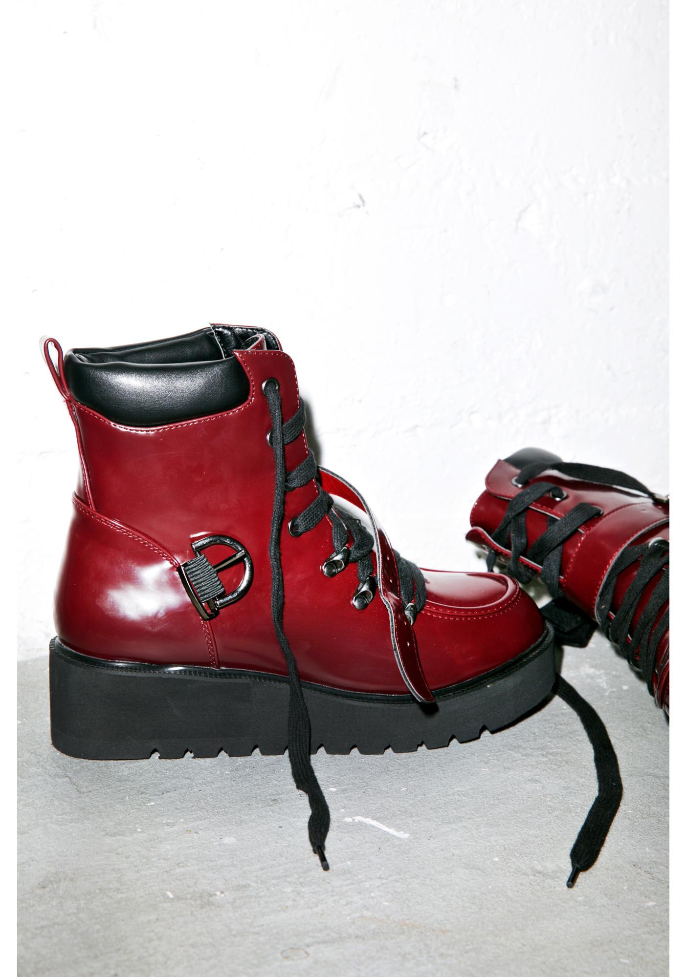 Sydney Platform Boots