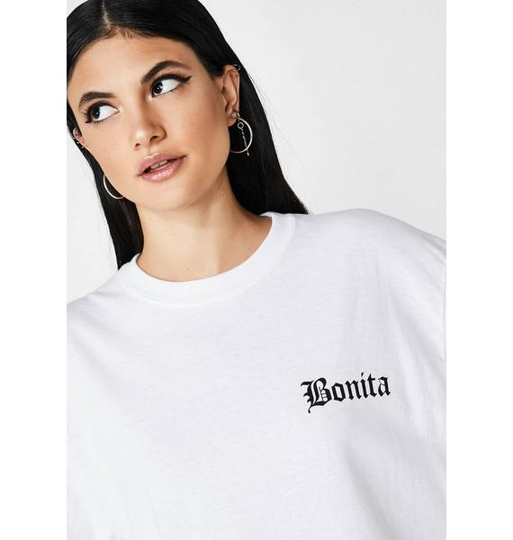 Viva La Bonita Pretty Brown Eyes Long Sleeve Tee