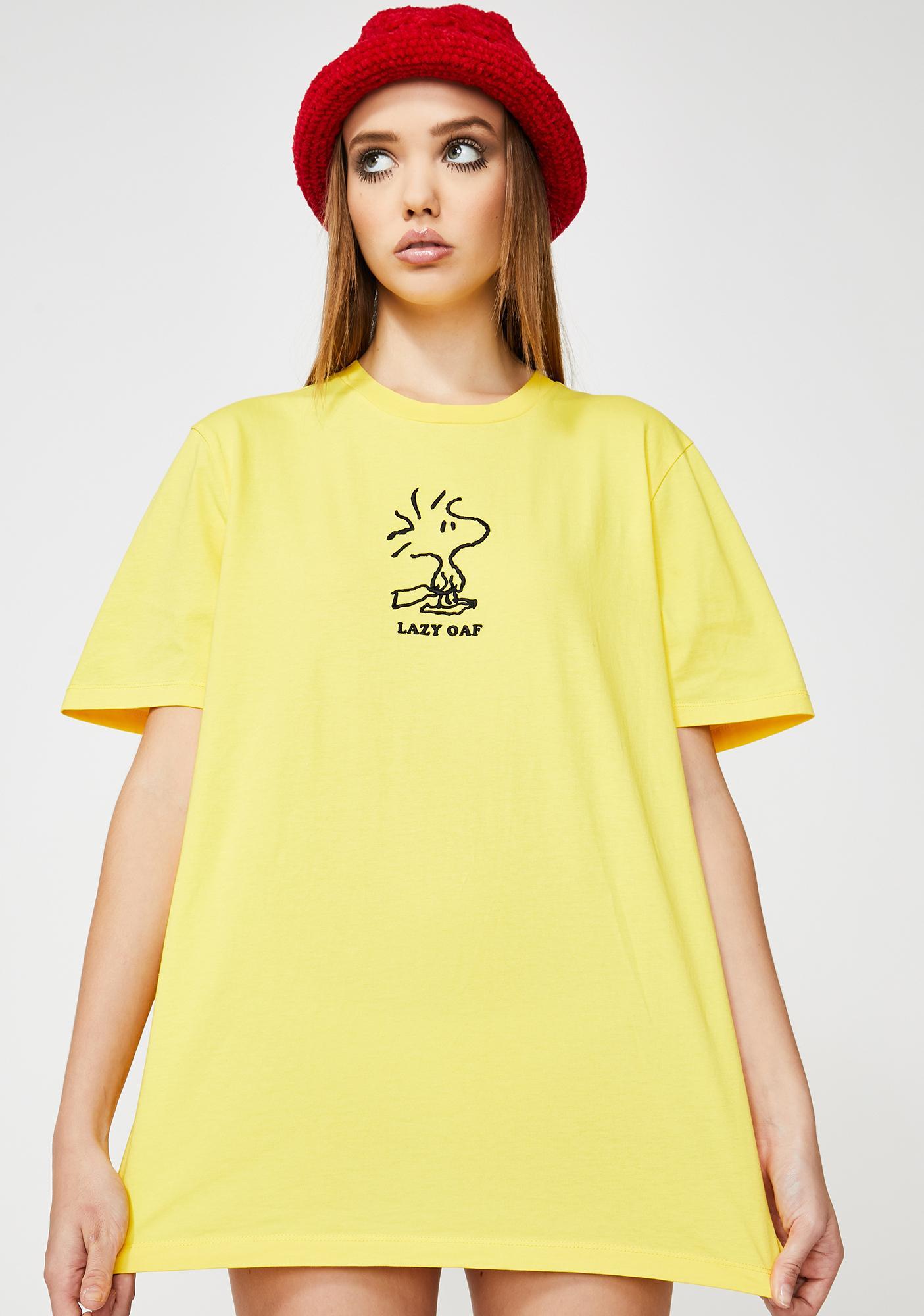 Lazy Oaf X Peanuts Woodstock Graphic T-Shirt