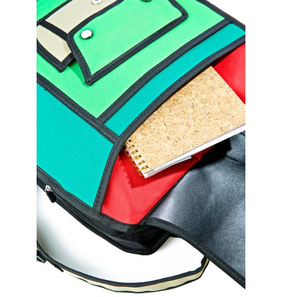 Time for Recess Cartoon Backpack
