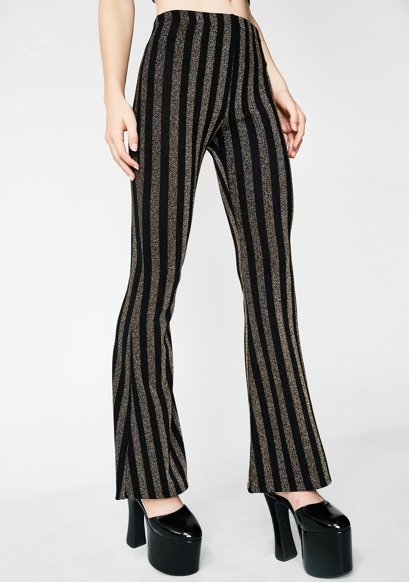 Sparkled Life Bell Bottoms