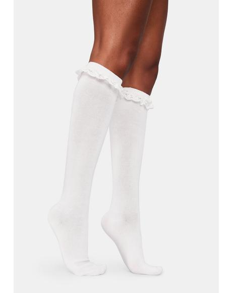 Feeling Blessed Knee High Socks