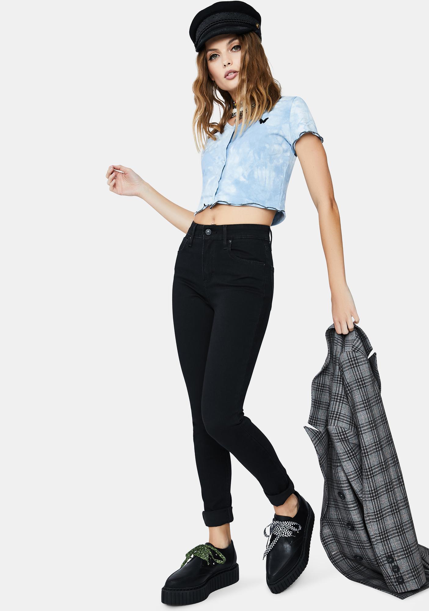 Levis Long Shot 721 High Rise Skinny Jeans