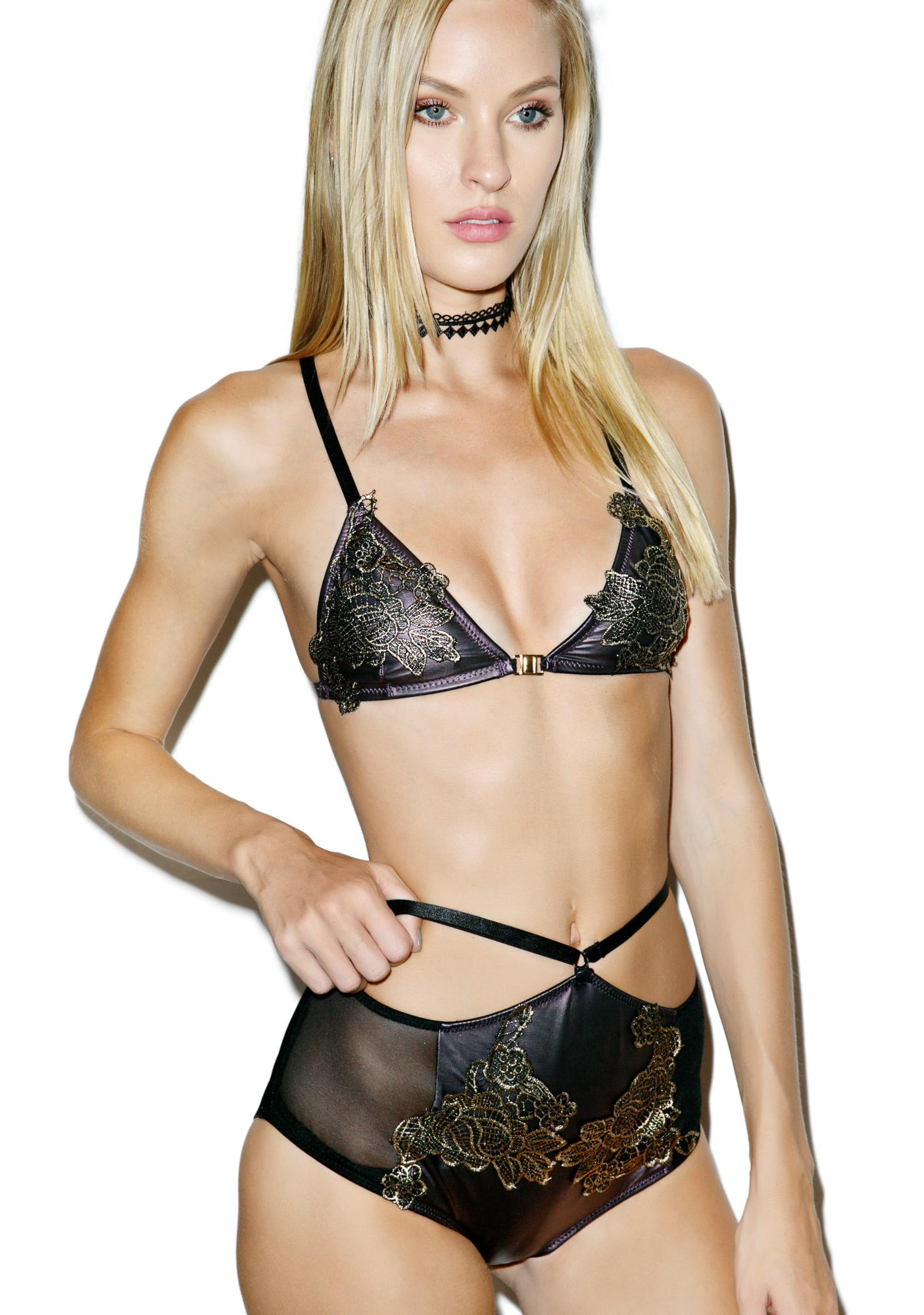 Faith Applique Brief