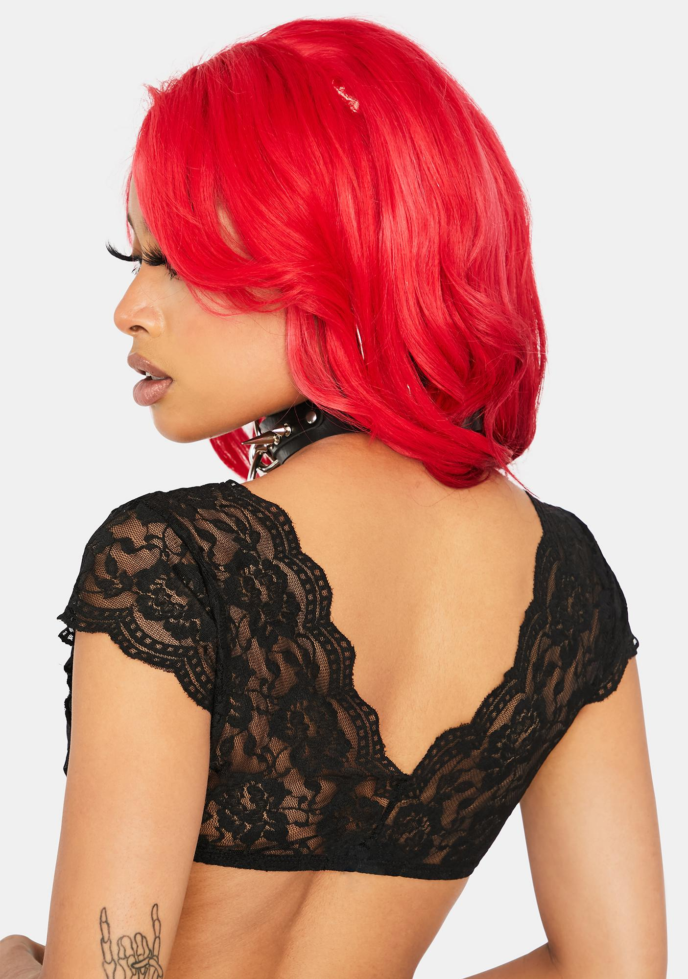 Lay It On Me Lace Crop Top
