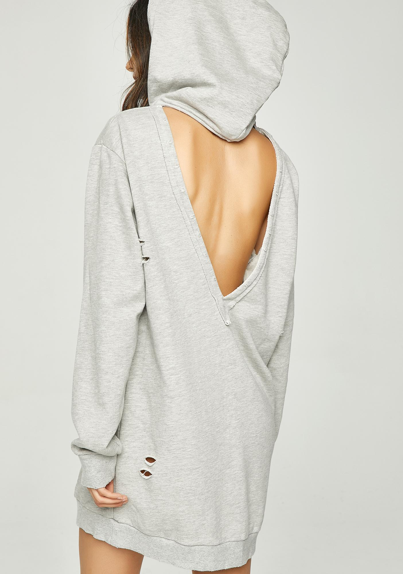 Nobody Cares Hoodie Dress