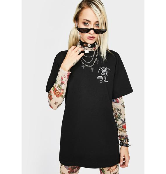 Last Call Co. Sinking Graphic Tee