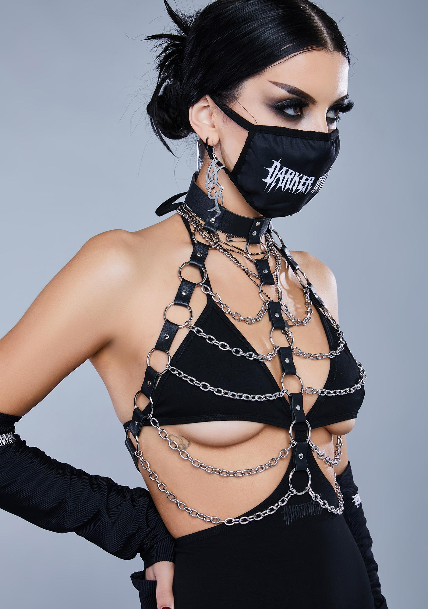 Kickdrum O-Ring Chain Body Harness