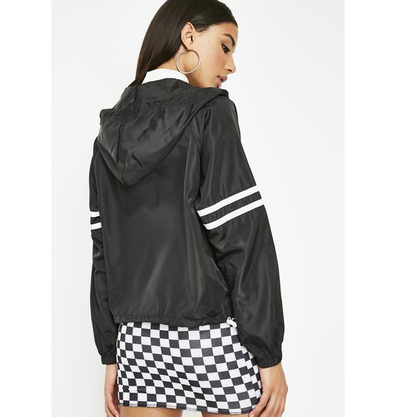 Midnight No Plans Windbreaker Jacket