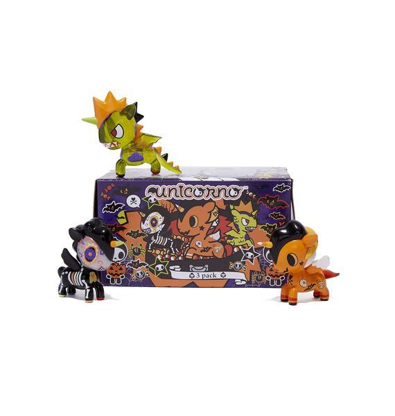 Tokidoki Halloween Unicorno 3 Pack