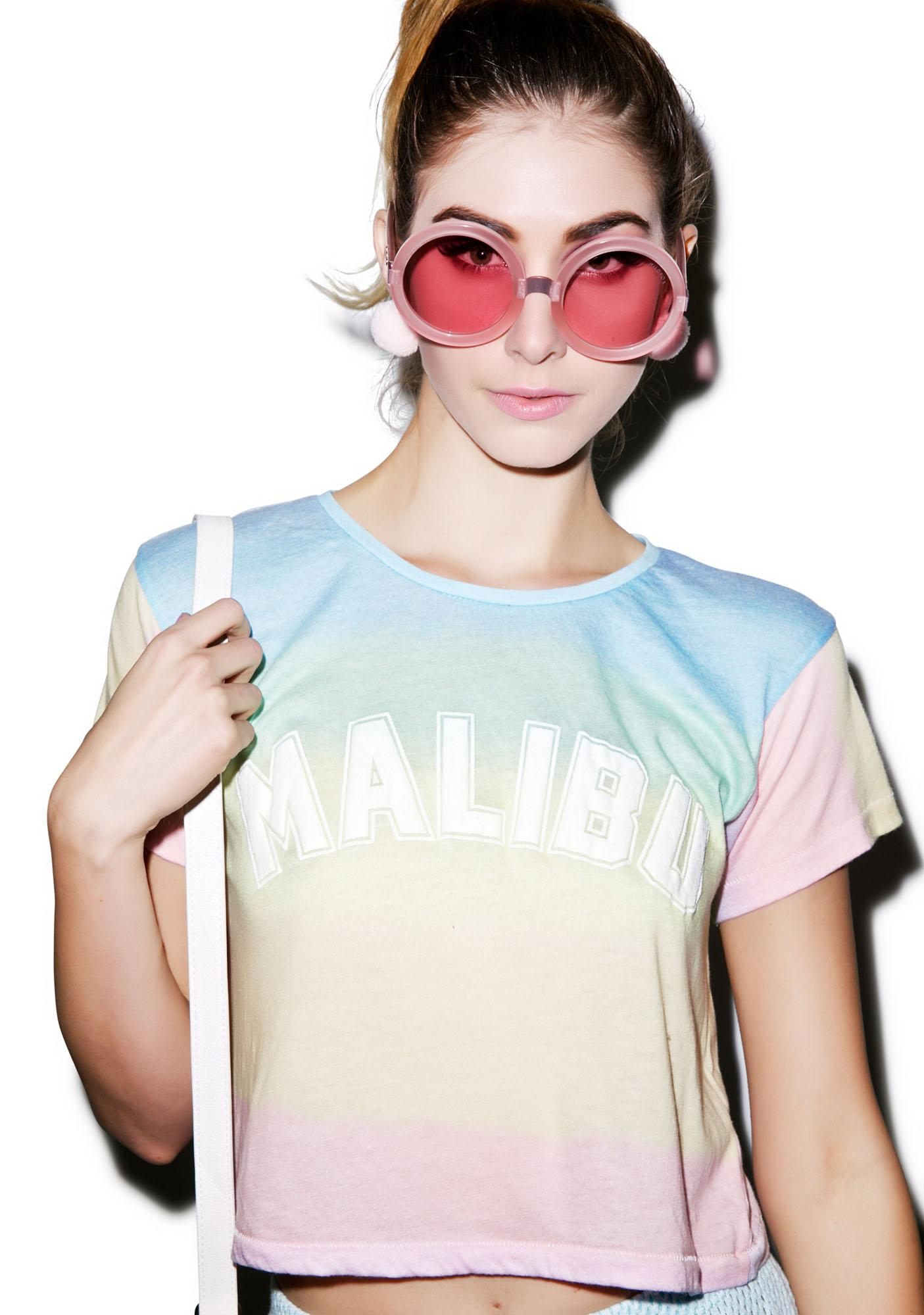 Wildfox Couture Malibu Sunscreen Scented Crop Top