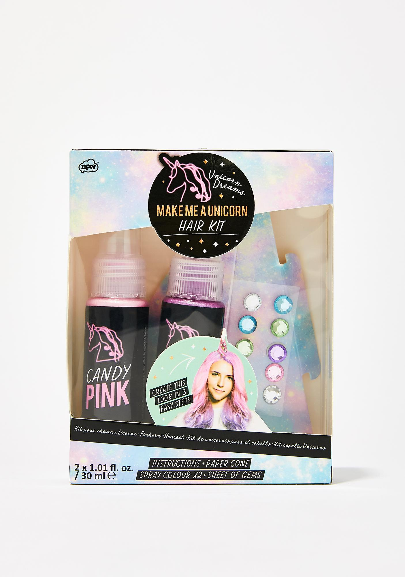 Make Me A Unicorn Hair Set