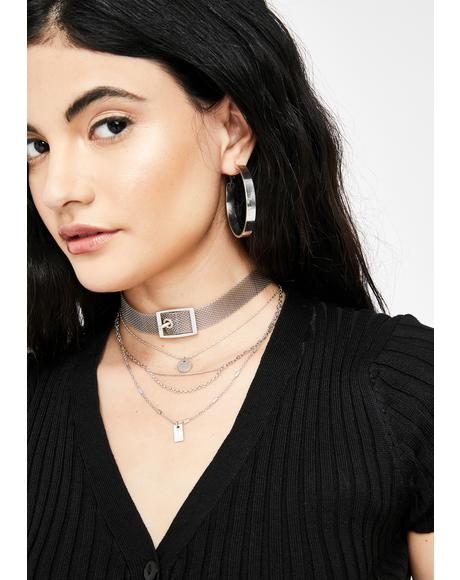 Trendy Clique Layered Necklace