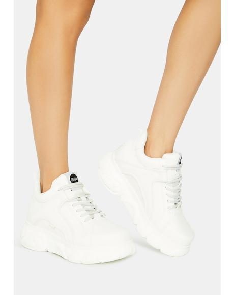 White CLD Corin Sneakers