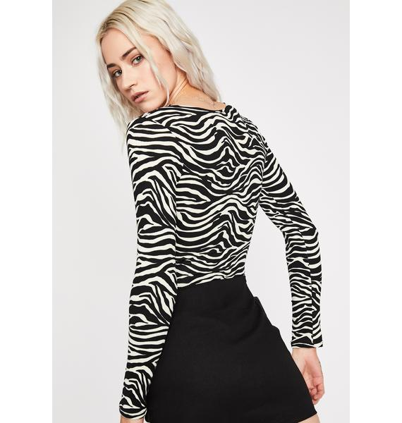 Mighty Wild Cut-Out Bodysuit