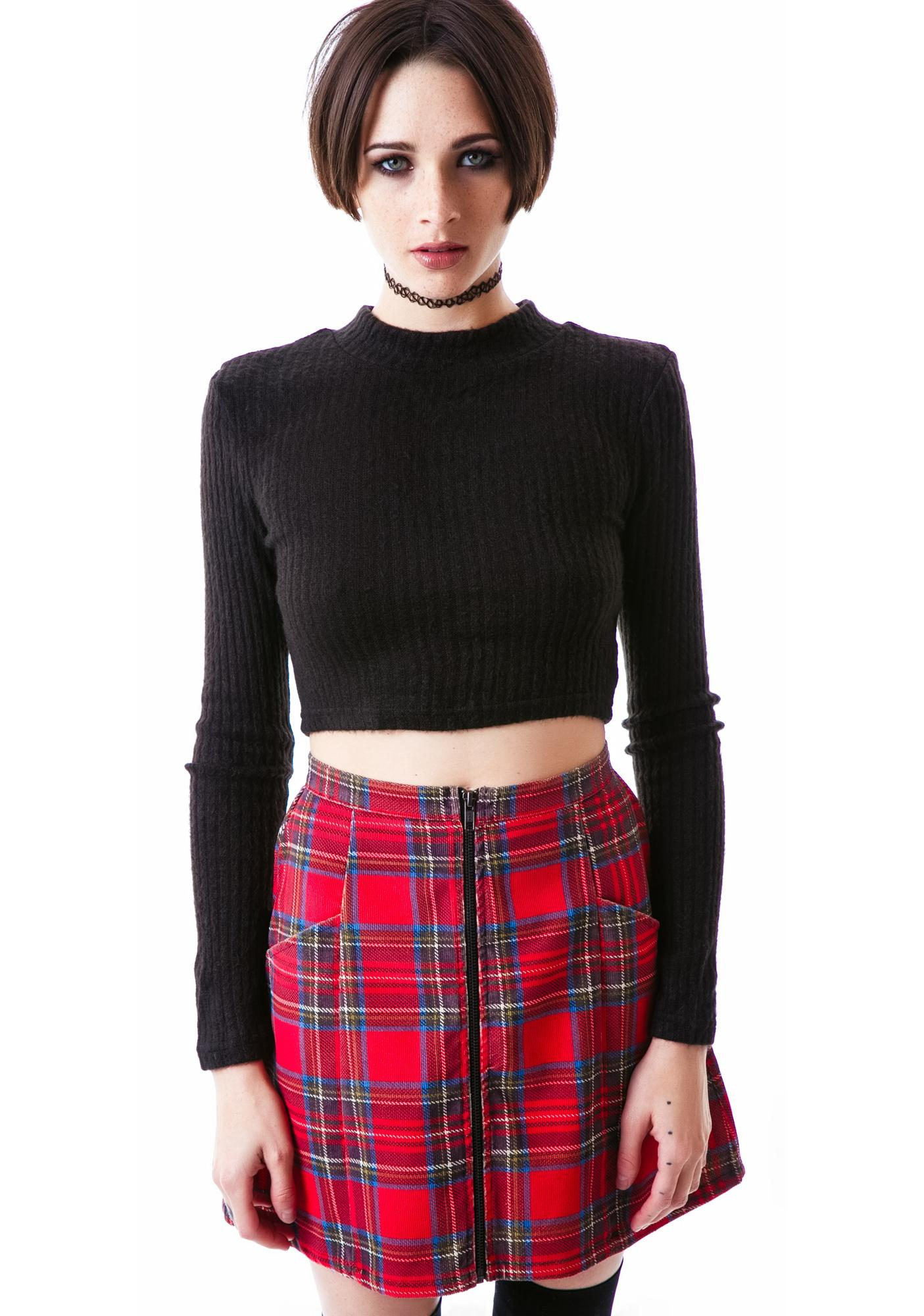 Mink Pink An Education Skirt