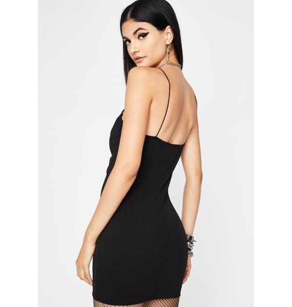 Unforgivable Acts Mini Dress