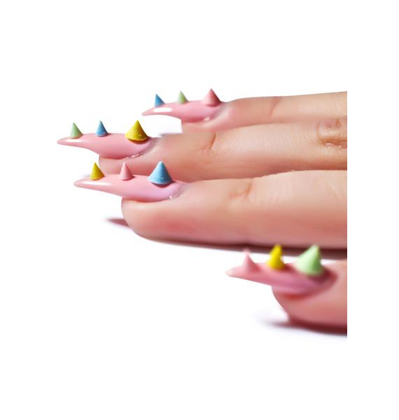 Nail Pop Rainbow Nail Spikes