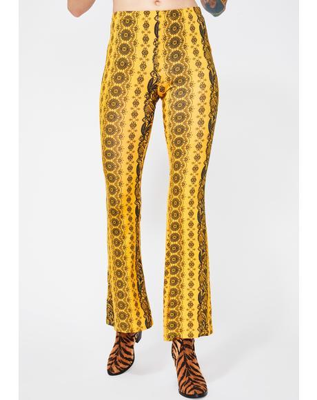Honey Midnight Haze Printed Pants