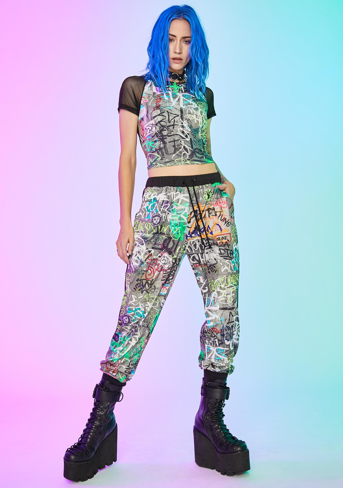 Current Mood Urban Canvas Knit Joggers