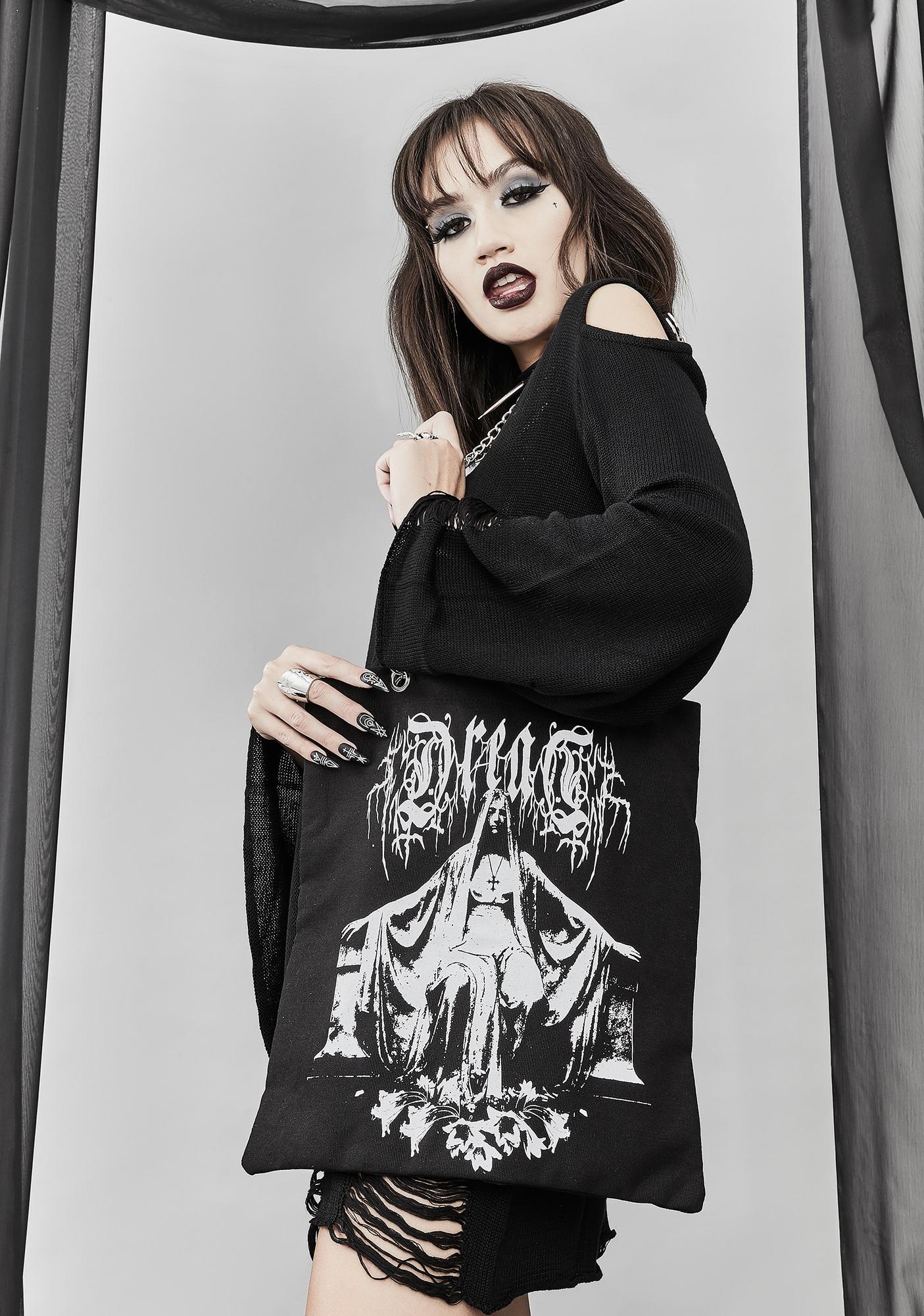 Widow Dark Premonitions Tote Bag