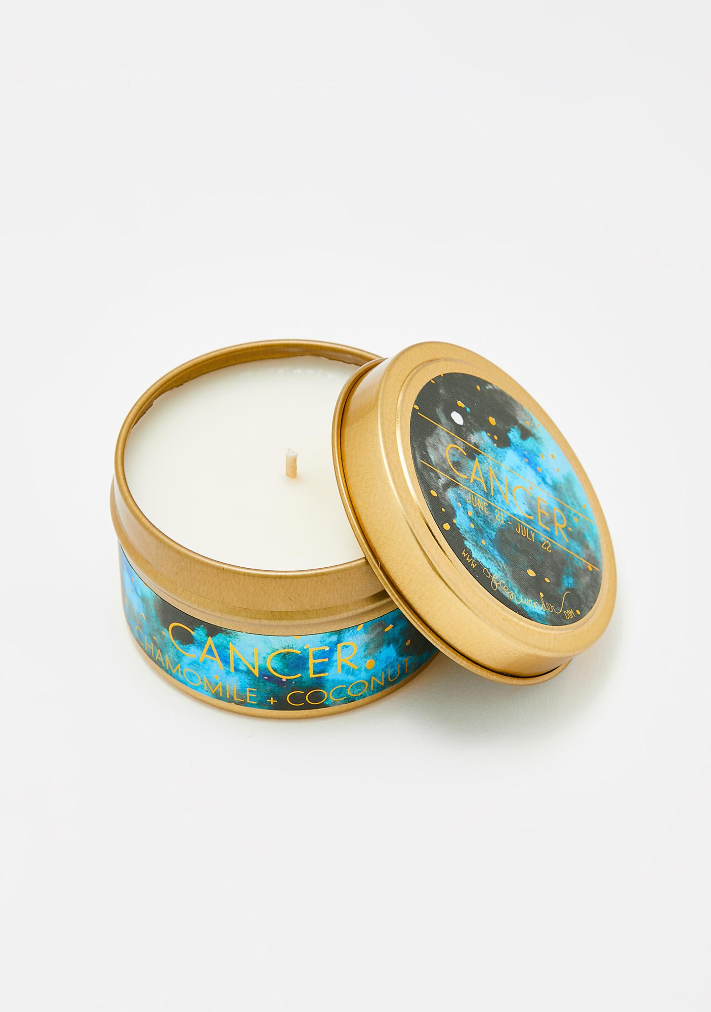 Often Wander Cancer Travel Tin Candle