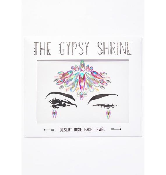 The Gypsy Shrine Desert Rose Face Jewels