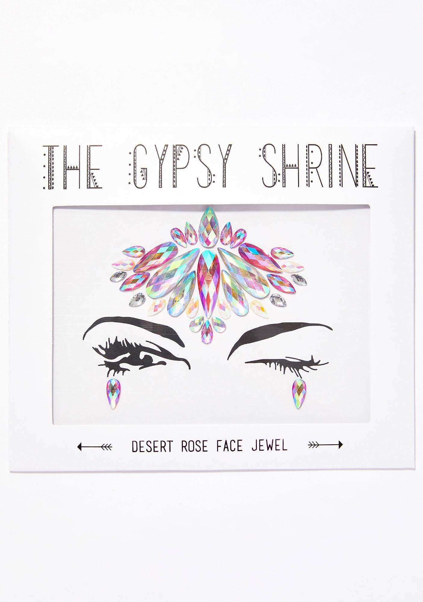 The Gypsy Shrine Desert Rose Face Jewels