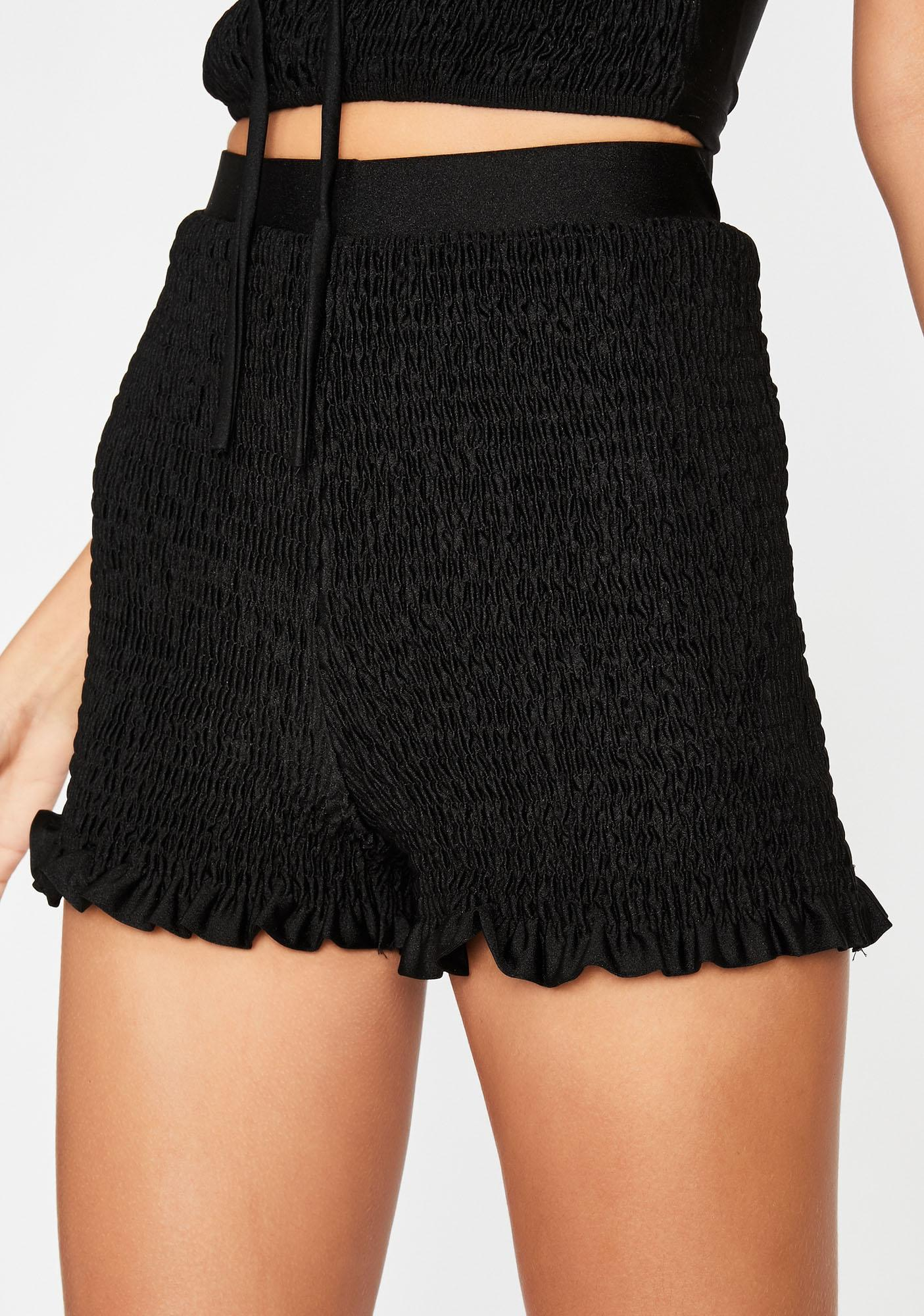 Risque Resolution Smocked Shorts