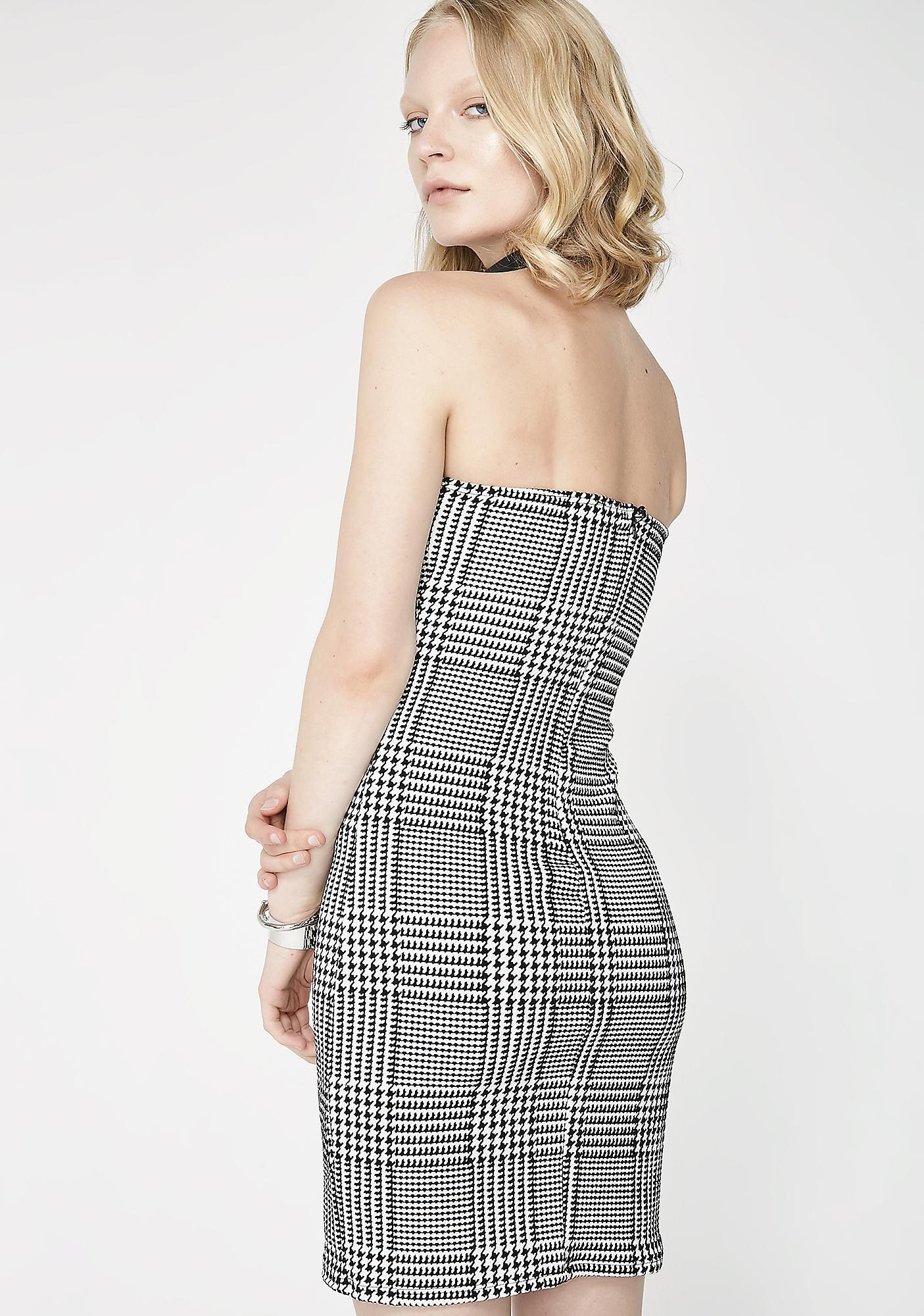 Step Back Mini Dress