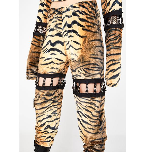 ESQAPE Connected Tiger Cargo Pants