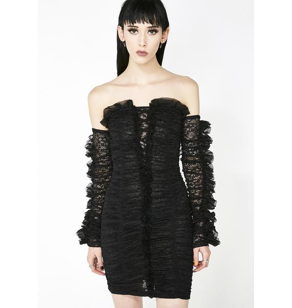 Kiki Riki Bon Appetite Ruffle Dress