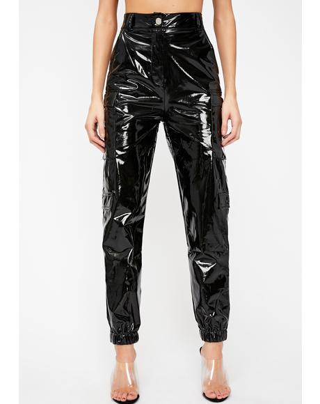 Sinister Motives Vinyl Pants