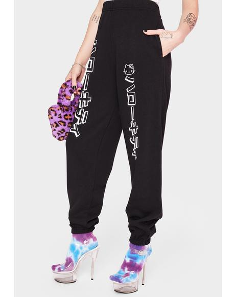 Hello Kitty Graphic Joggers
