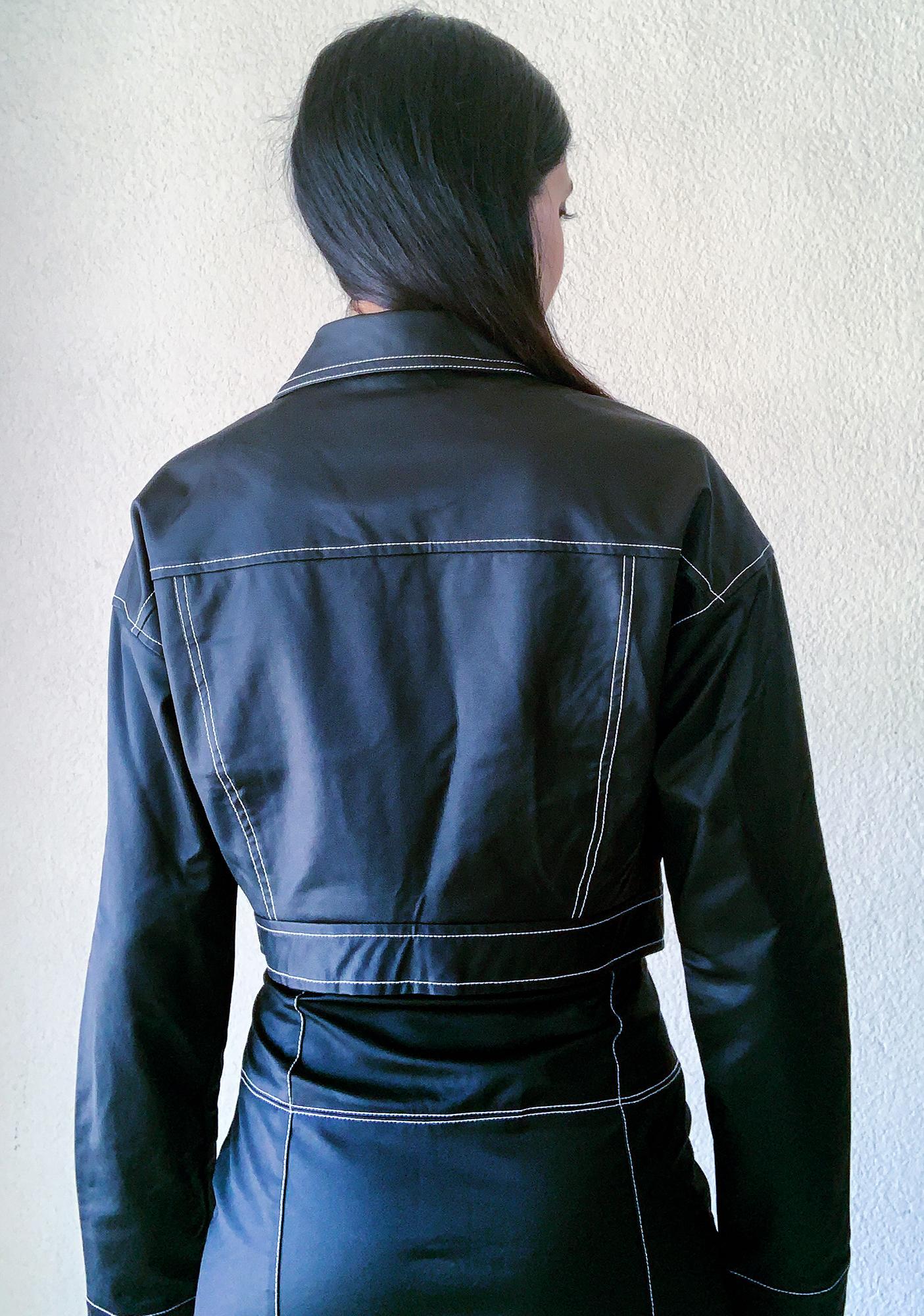 Poster Grl No Hard Feelingz Cropped Jacket