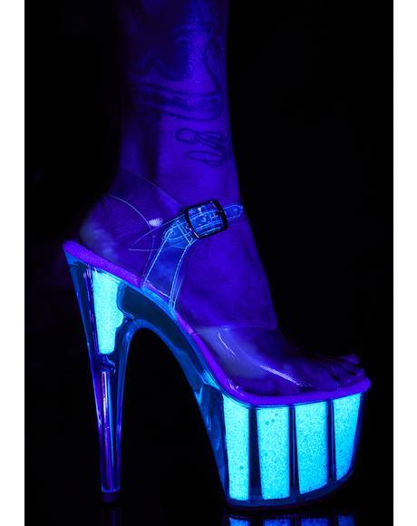 Showgirl Sizzle Platform Heels