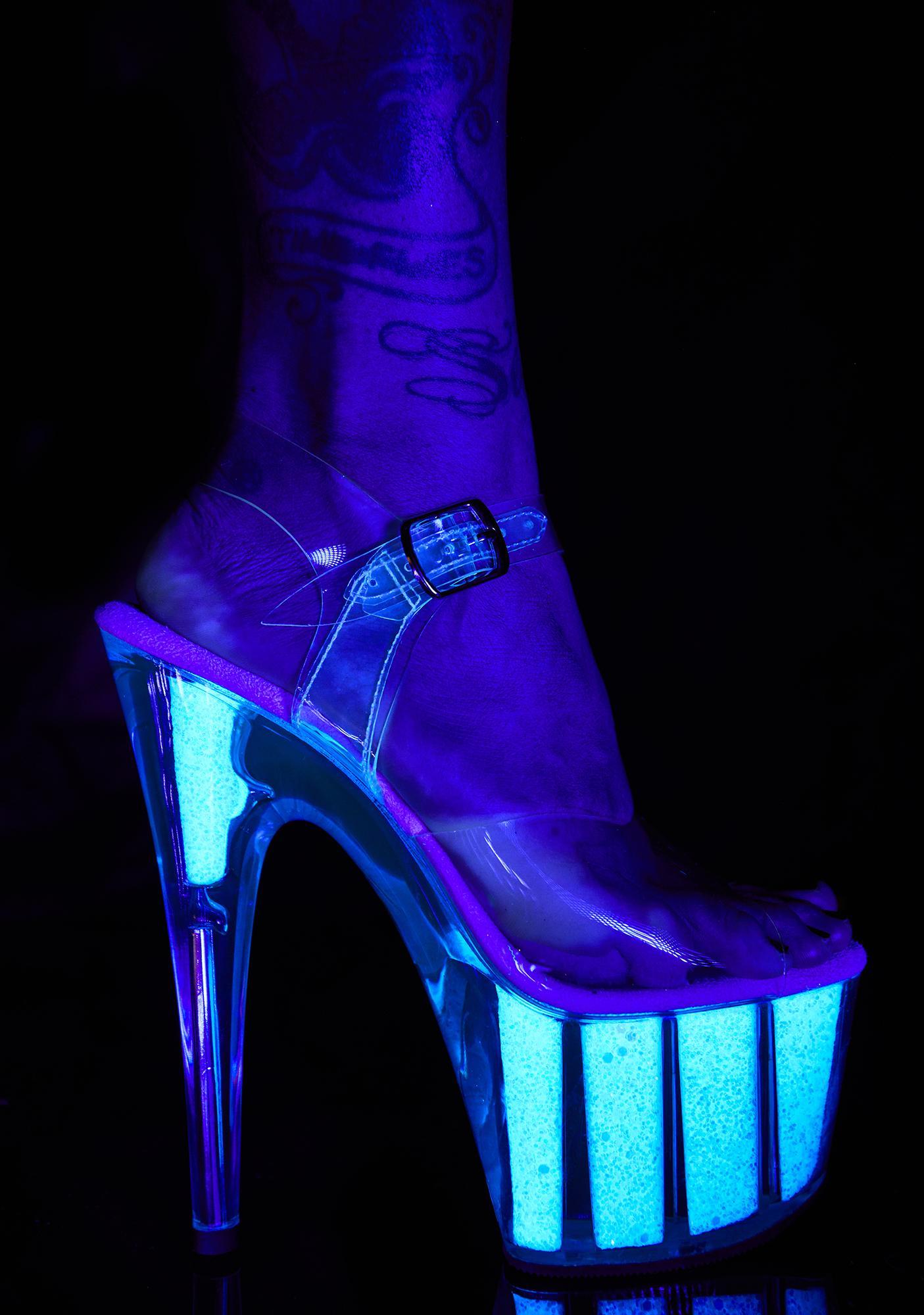 Pleaser Showgirl Sizzle Platform Heels
