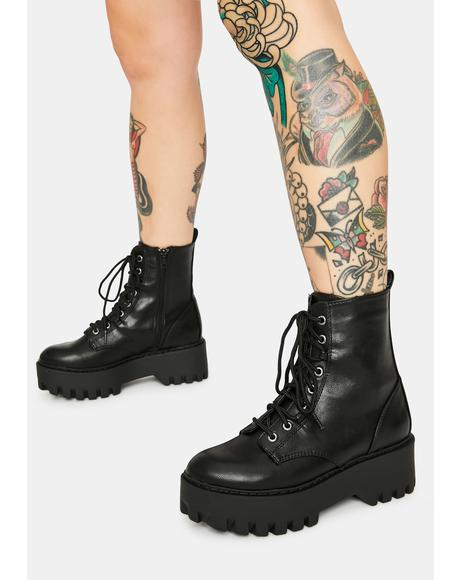 Onyx Too Famous Boots
