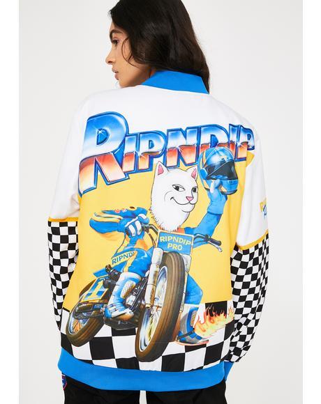 Speed Racing Varsity Jacket