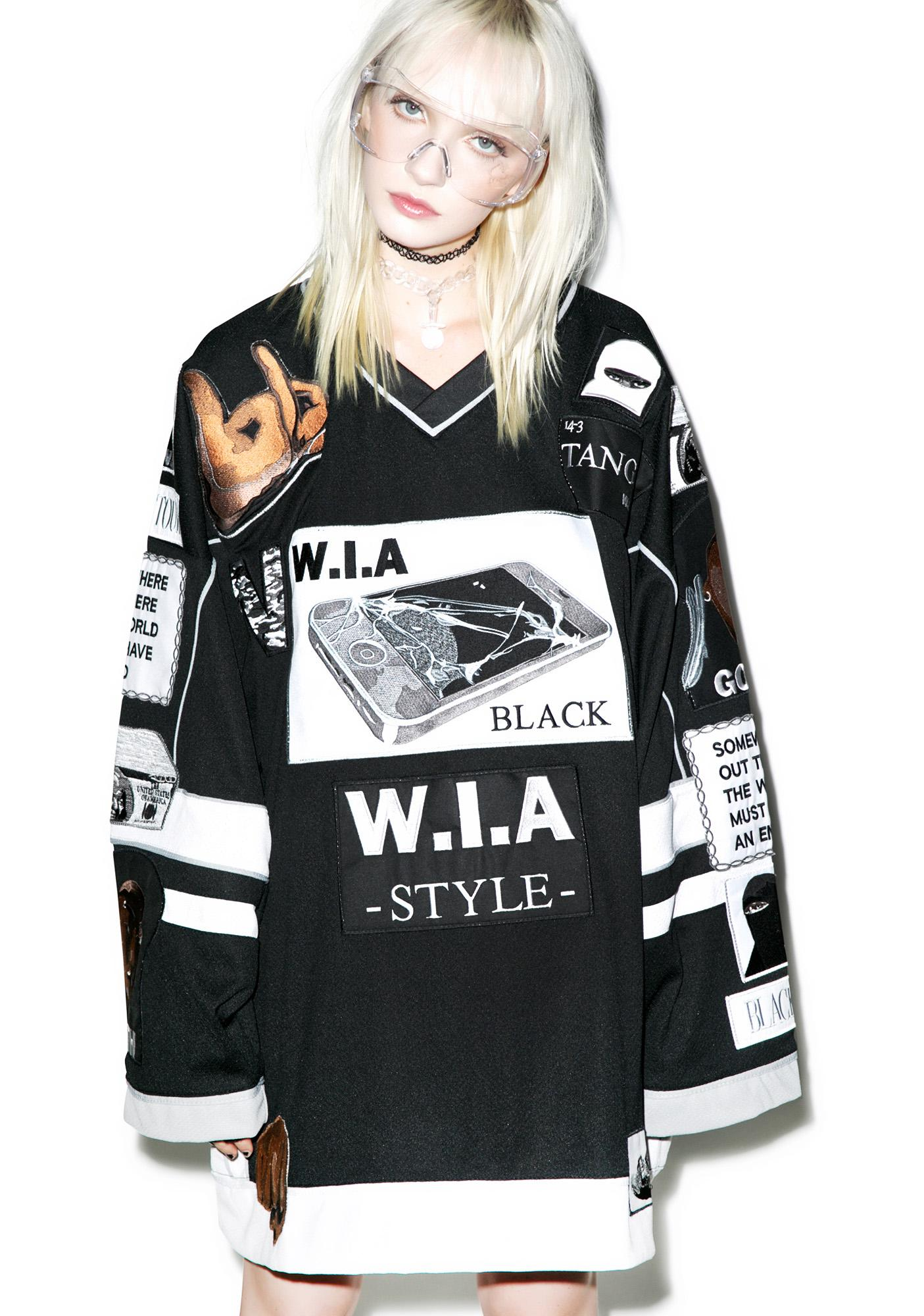 W.I.A Crash Patch Big Shirt