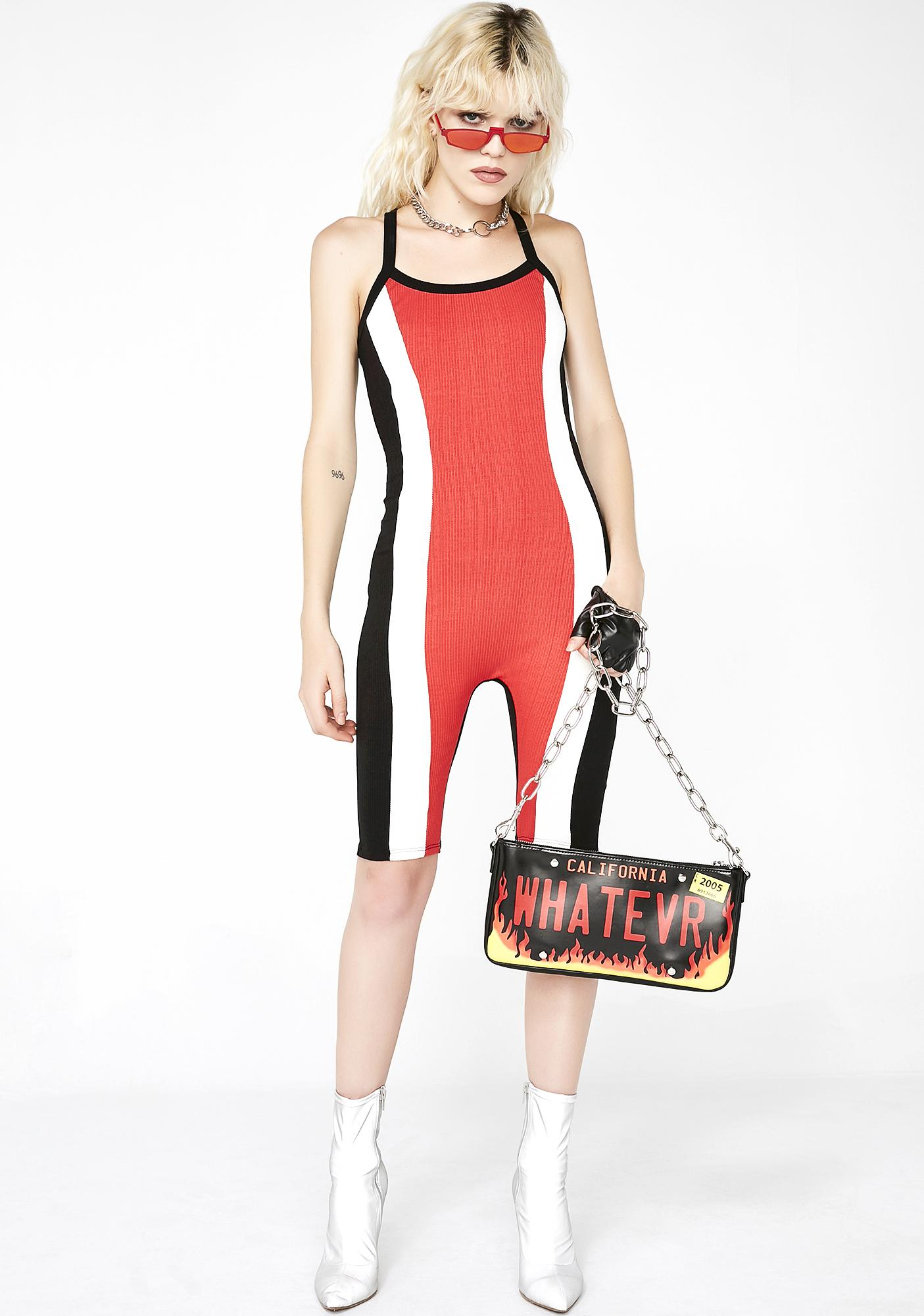 Drive All Day Colorblock Unitard