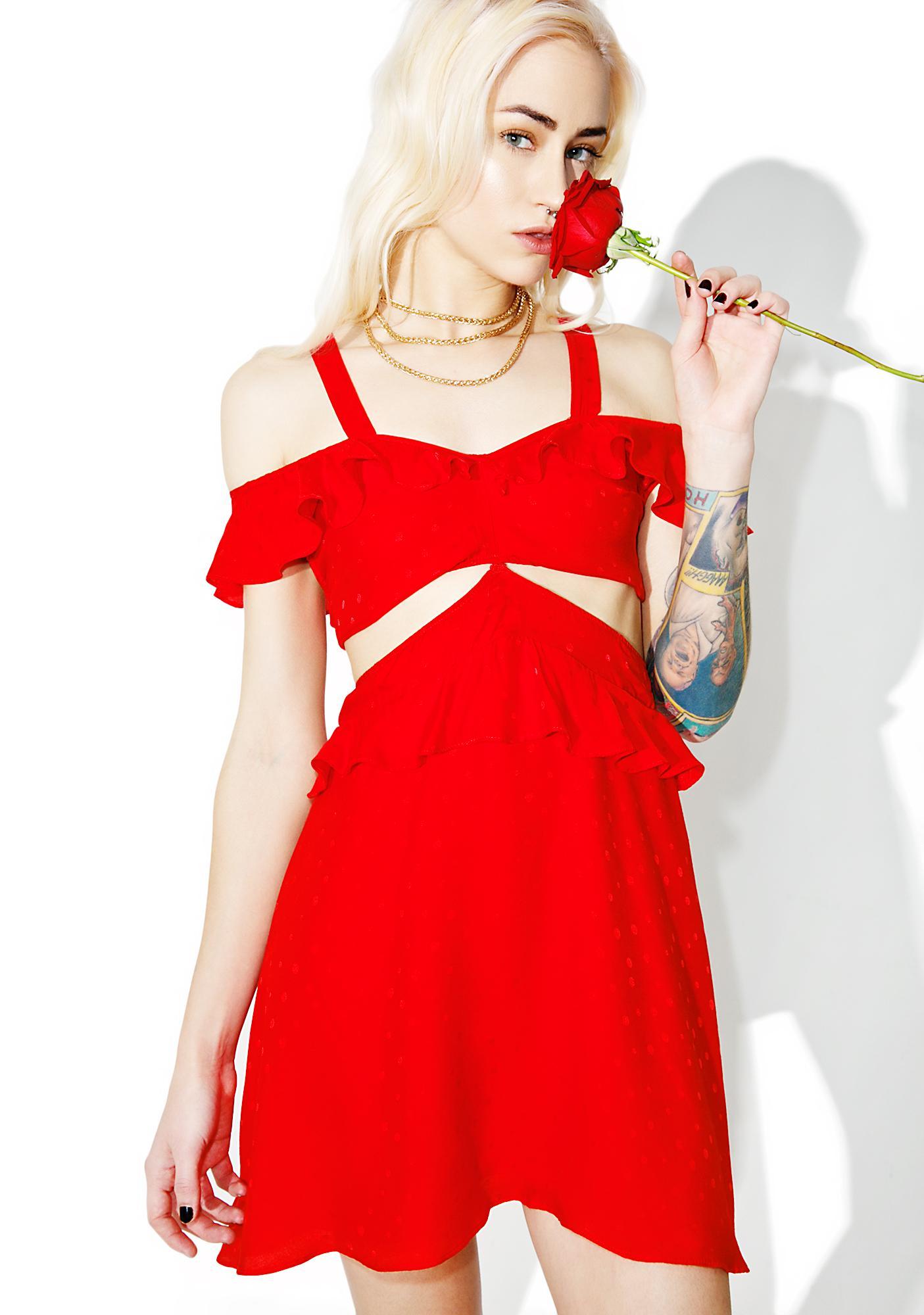 For Love & Lemons Gabriella Cocktail Dress